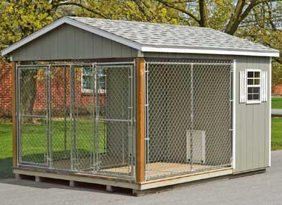 10x12 Dog Kennel