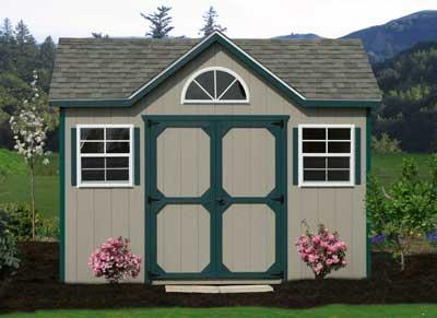 10x12 Victorian Shed