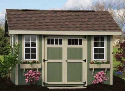 Garden Sheds by Yoder Barns Storage Mifflinburg PA