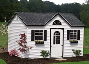 10x14 Victorian Shed
