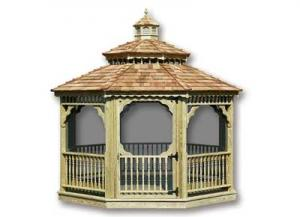Octagon Gazebo 12