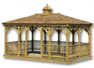 Rectangle Gazebo