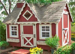 8x10 Victorian Play House