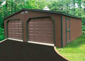 Double Wide Garage