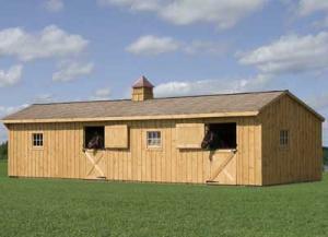Animal Shelters By Yoder Barns Amp Storage Mifflinburg Pa