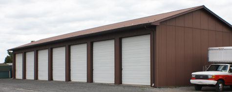 Steel Self-Storage Building