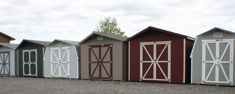 Wooden Self-Storage Sheds