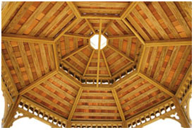 Octagonal Double Roof
