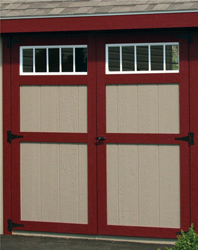 Door with Transom Window