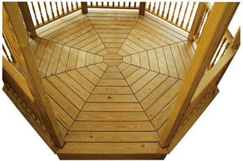 Octagonal Wooden Floor